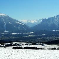 Ein Bergpanorama