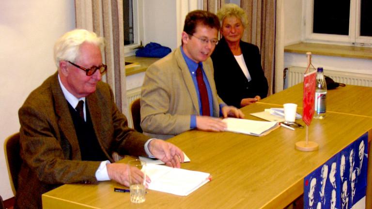 2003 | Hans-Jochen Vogel zu Besuch in Piding
