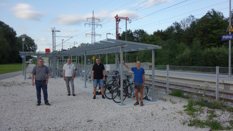 Radlanlage Bahnhof