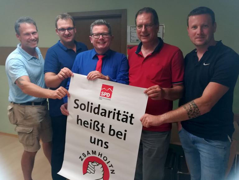 Zsamhoitn SPD Piding