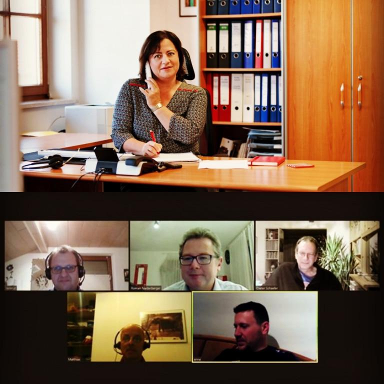 Videokonferenz Stadt und Land